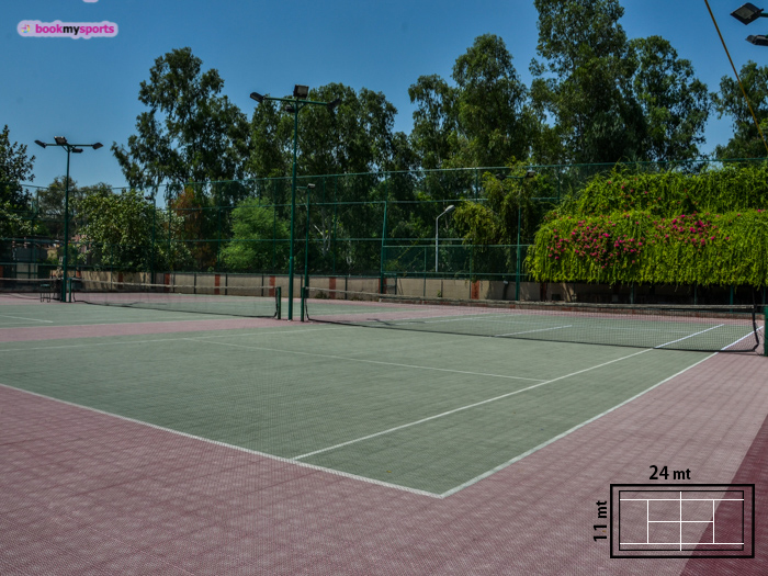 ASN Tennis ground at Mayur Vihar Phase 1 Extension