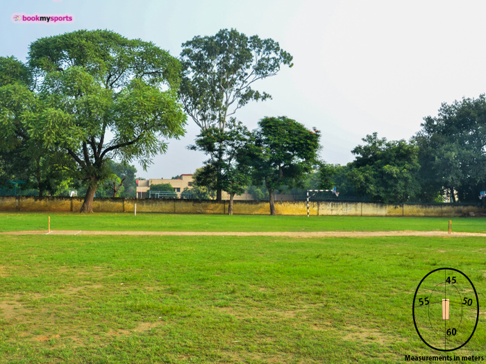 Cricket Ground in DTEA Senior Secondary School Cricket Ground
